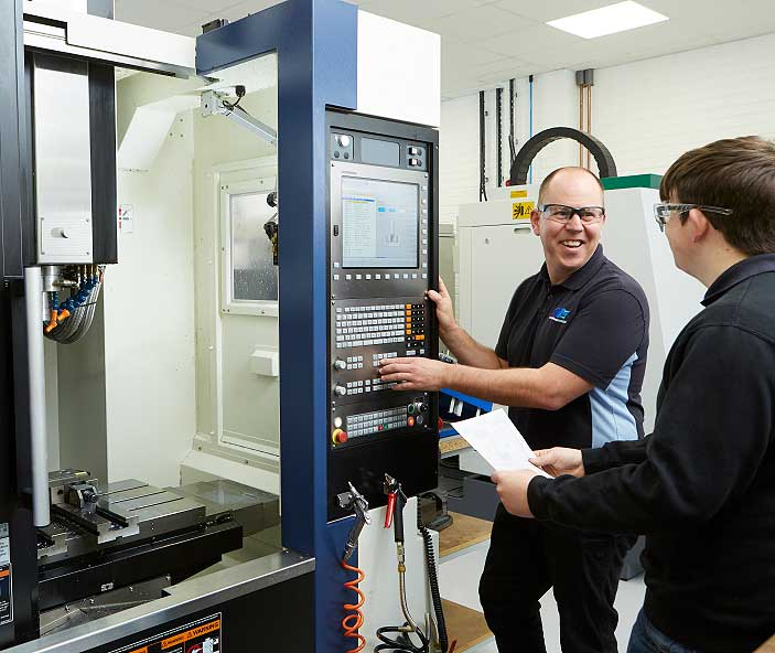 Quick Machining Solutions CNC Milling Service in operation