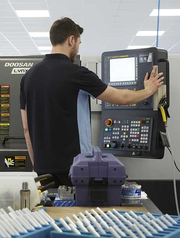Quick Machining Solutions Doosan Lynx