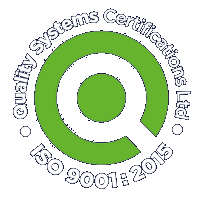Quality Systems Certificate-ISO9001:2015 footer logo