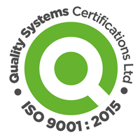 Quality Systems Certificate ISO9001:2015