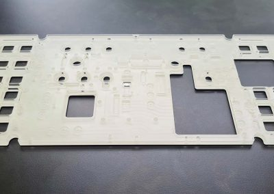 QMS gallery- Aerospace machined panel