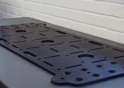 QMS gallery- Large machined plate