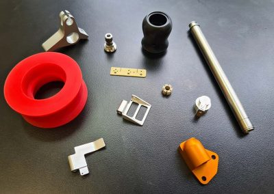 QMS-gallery- Small machined parts